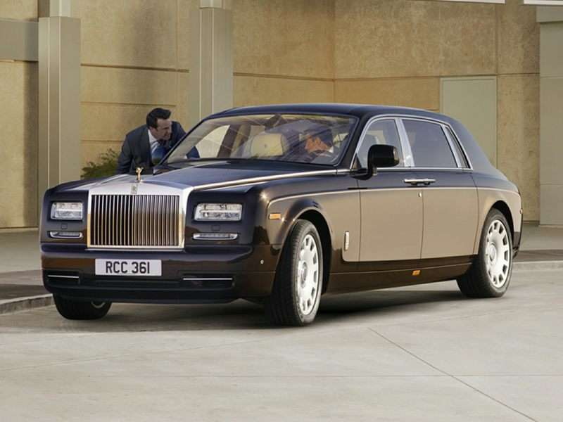 Research the 2015 Rolls-Royce Phantom