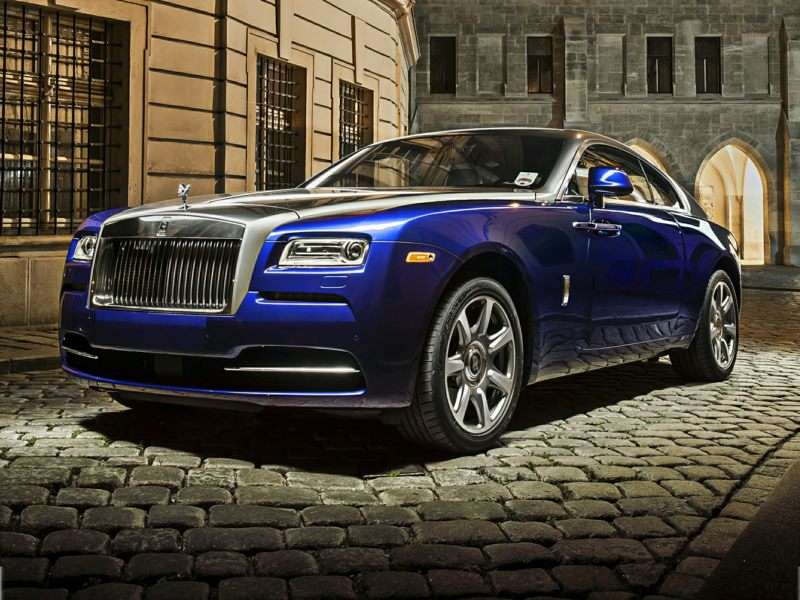 Research the 2015 Rolls-Royce Wraith