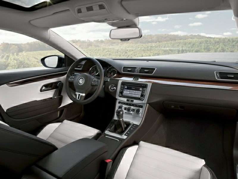 2015 vw cc interior
