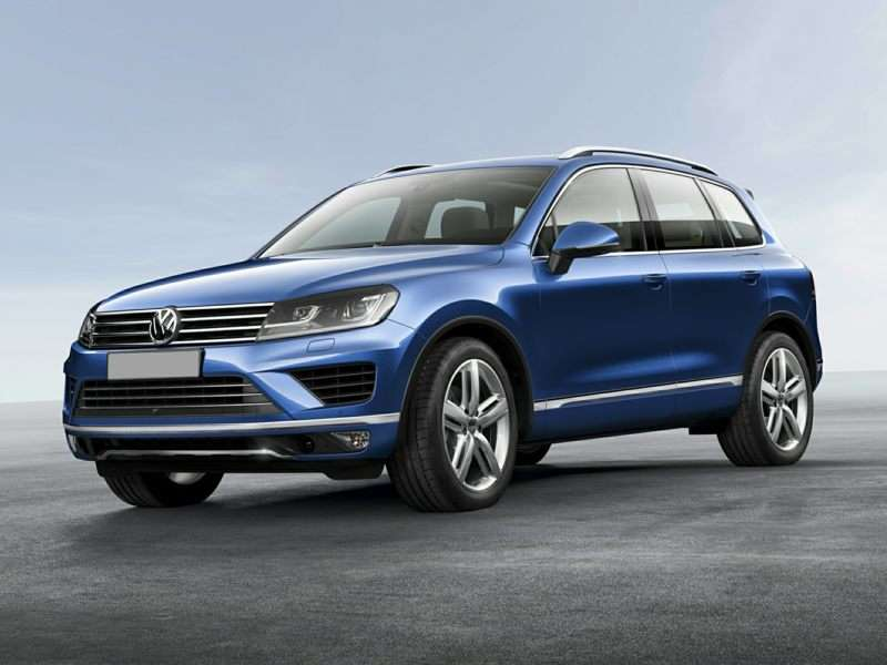 Research the 2015 Volkswagen Touareg