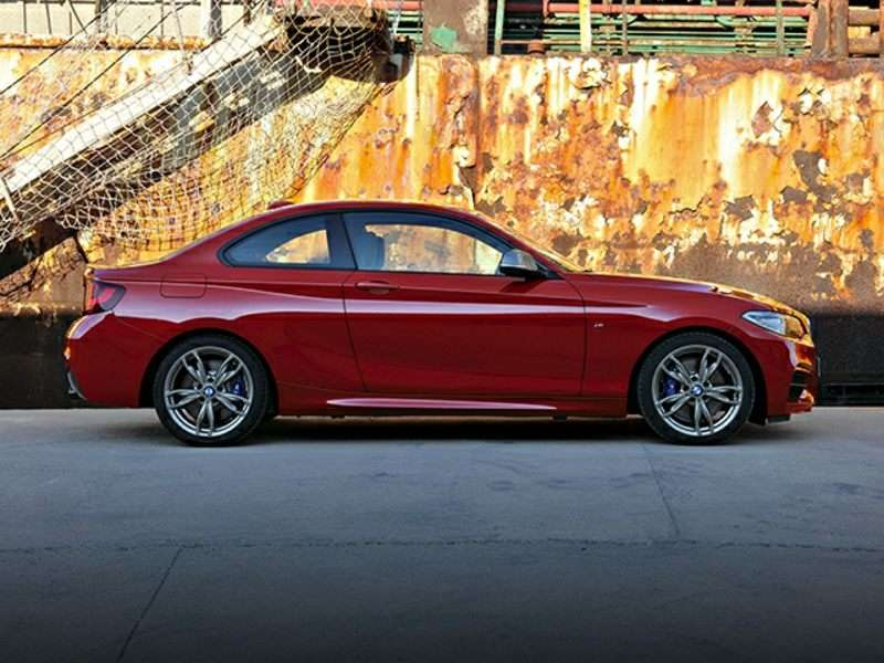 Research the 2016 BMW M235