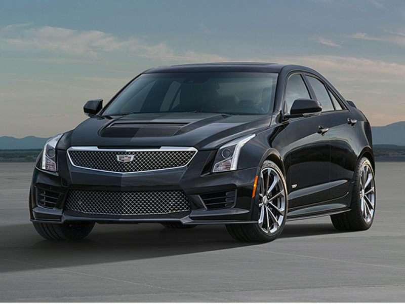 Research the 2016 Cadillac ATS-V