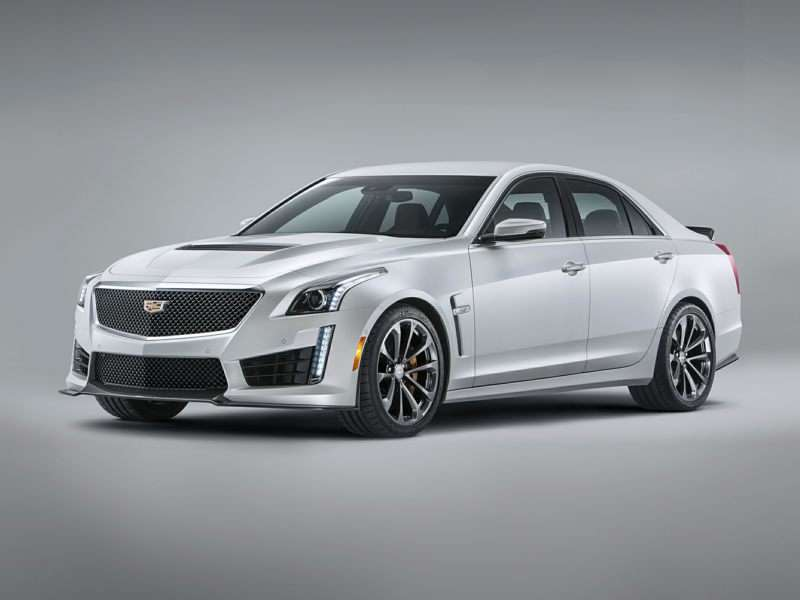 Research the 2016 Cadillac CTS-V