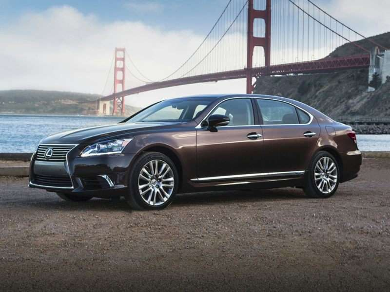 Research the 2016 Lexus LS 600h