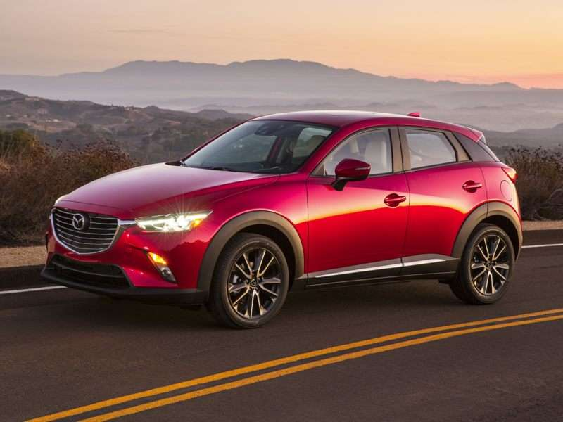 Research the 2016 Mazda CX-3