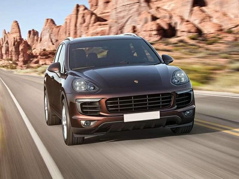 Research the 2016 Porsche Cayenne