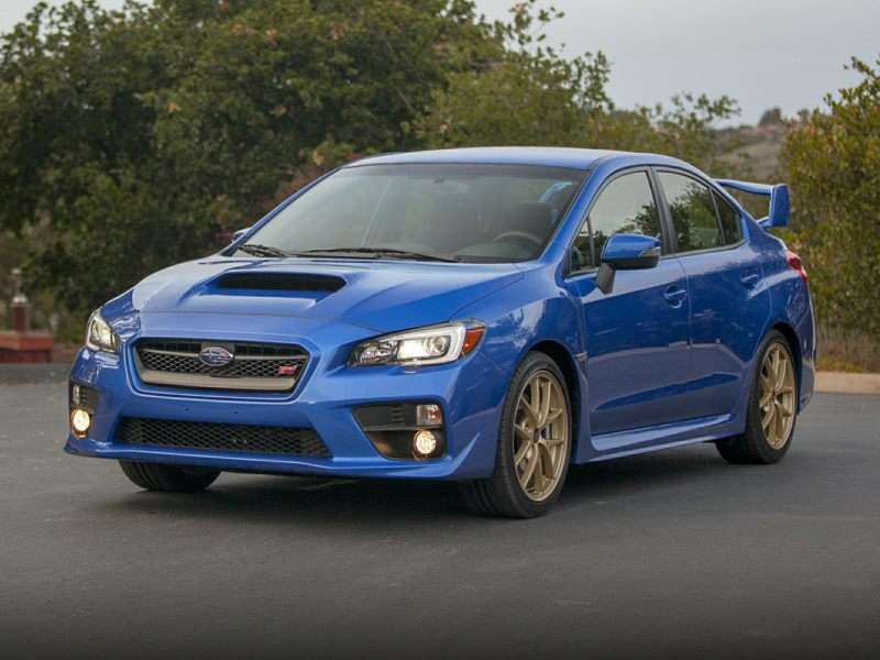 Research the 2016 Subaru WRX STI