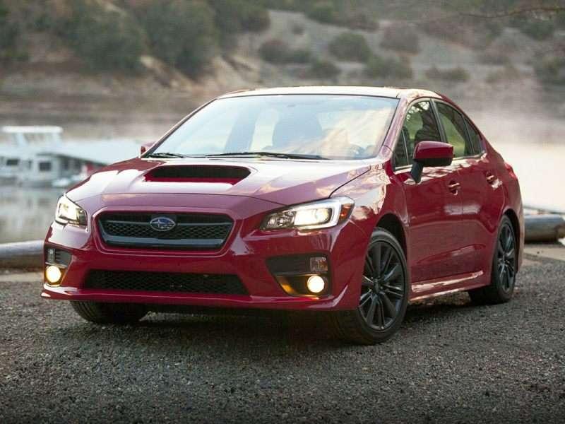 Research the 2016 Subaru WRX