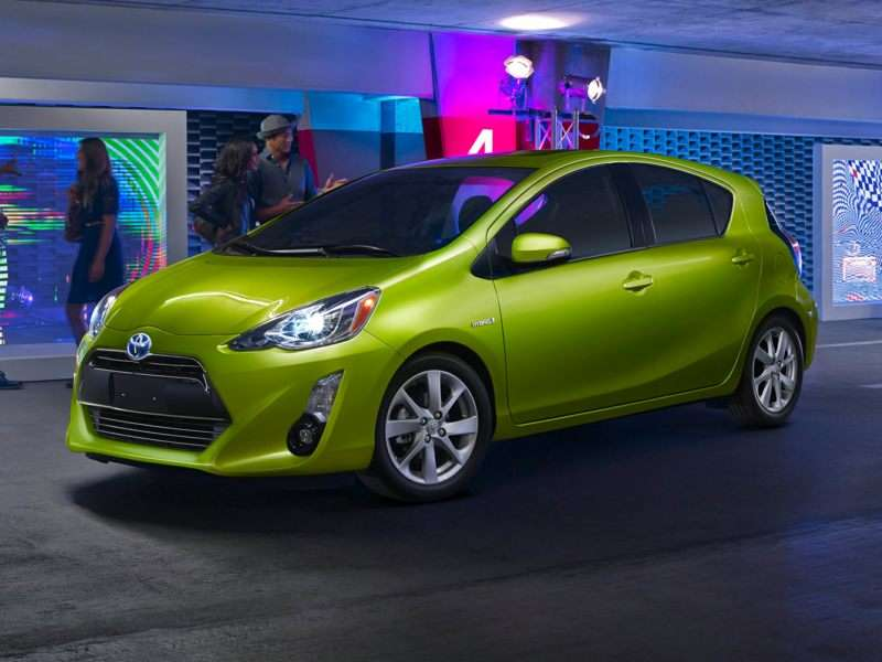 Research the 2016 Toyota Prius c