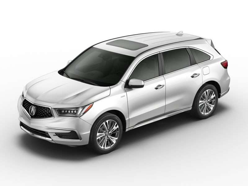 Research the 2017 Acura MDX Sport Hybrid