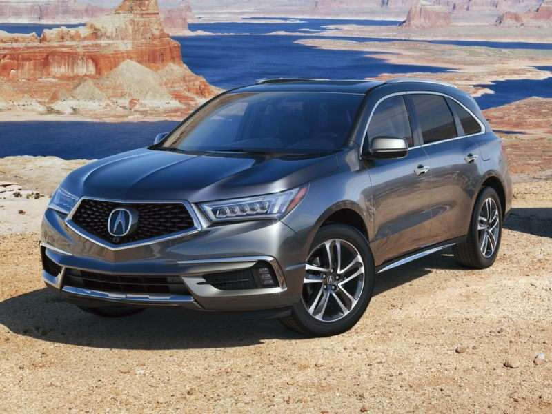 Research the 2017 Acura MDX