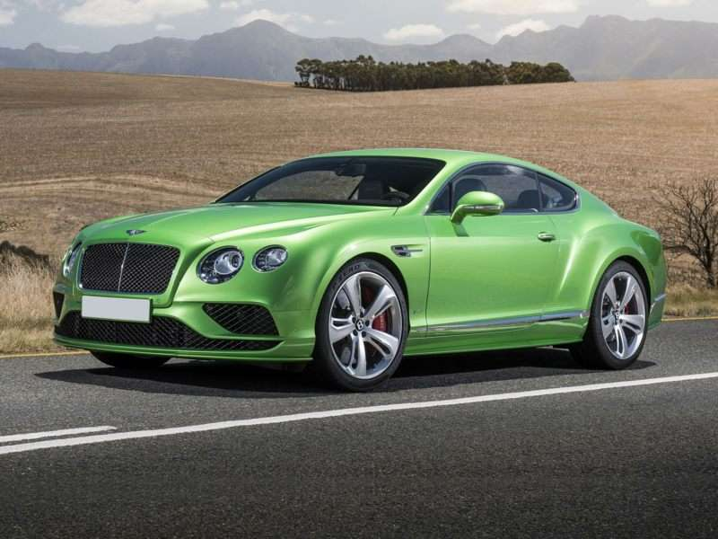 Research the 2017 Bentley Continental GT