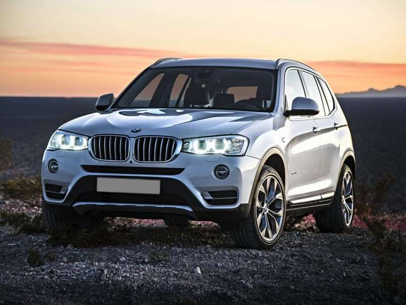 Research the 2017 BMW X3