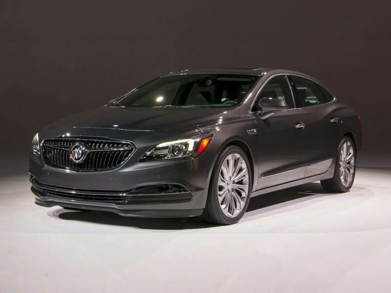 Research the 2017 Buick LaCrosse