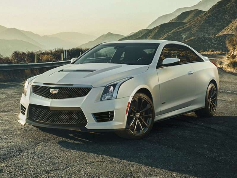Research the 2017 Cadillac ATS-V