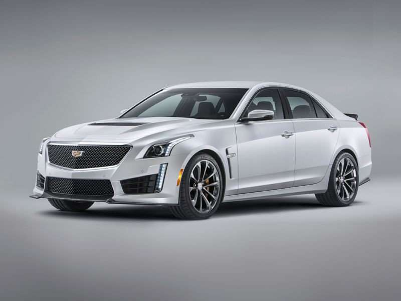 Research the 2017 Cadillac CTS-V