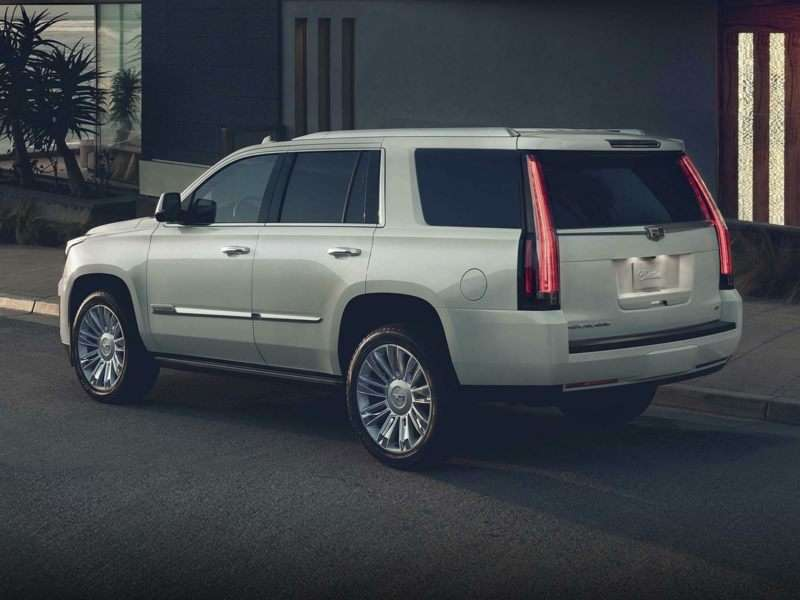 Research the 2017 Cadillac Escalade
