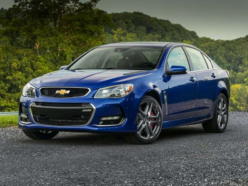 Research the 2017 Chevrolet SS