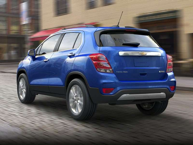 Research the 2017 Chevrolet Trax
