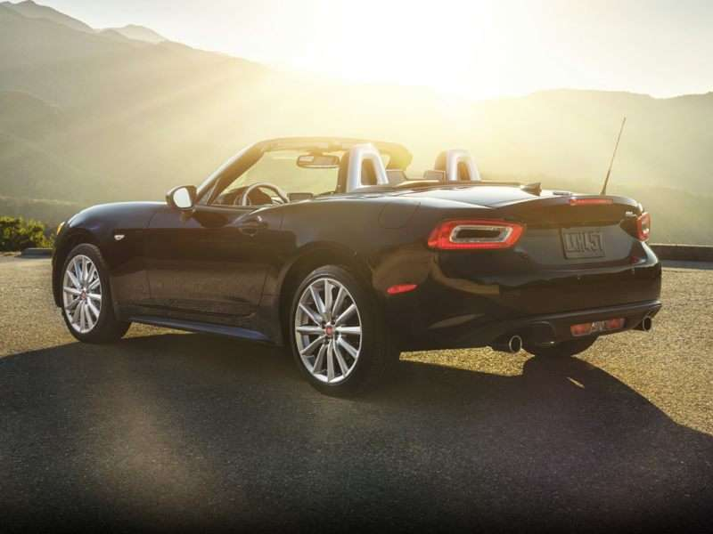 Research the 2017 FIAT 124 Spider
