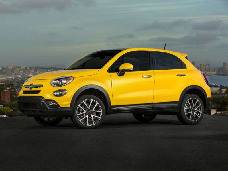 Research the 2017 FIAT 500X