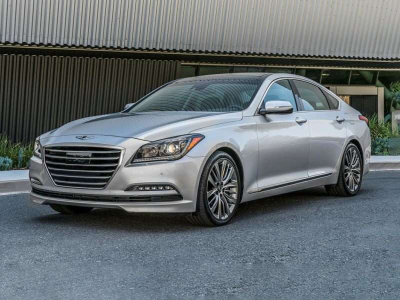 Research the 2017 Genesis G80