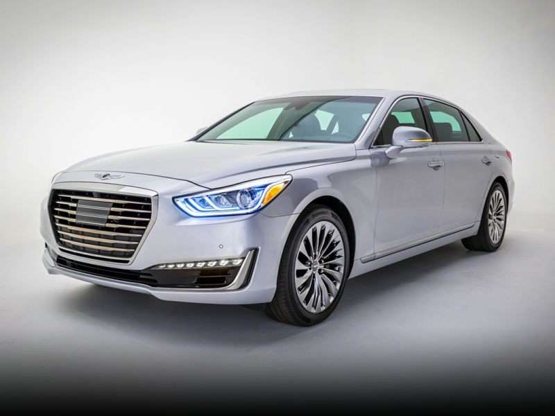 Research the 2017 Genesis G90
