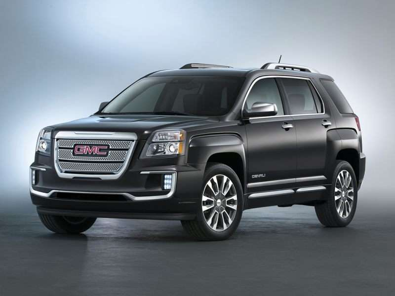 Research the 2017 GMC Terrain