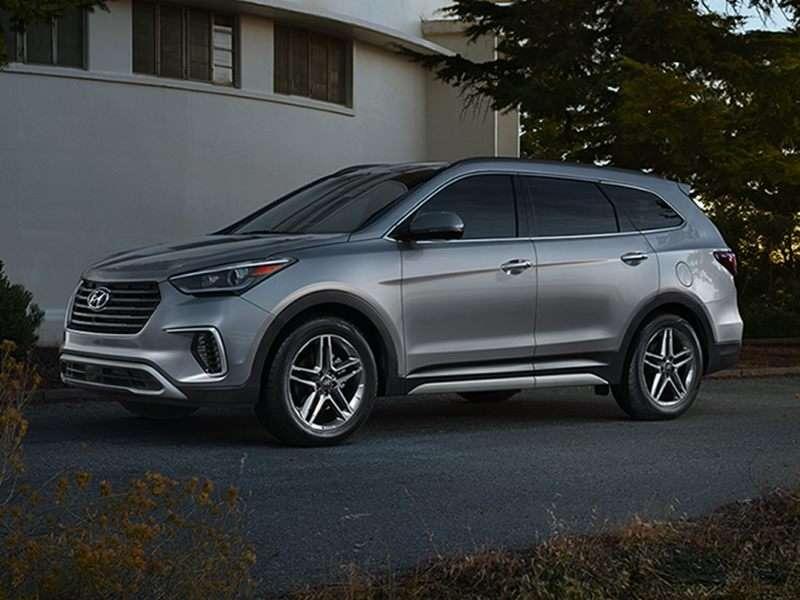Research the 2017 Hyundai Santa Fe