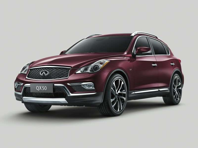Research the 2017 Infiniti QX50