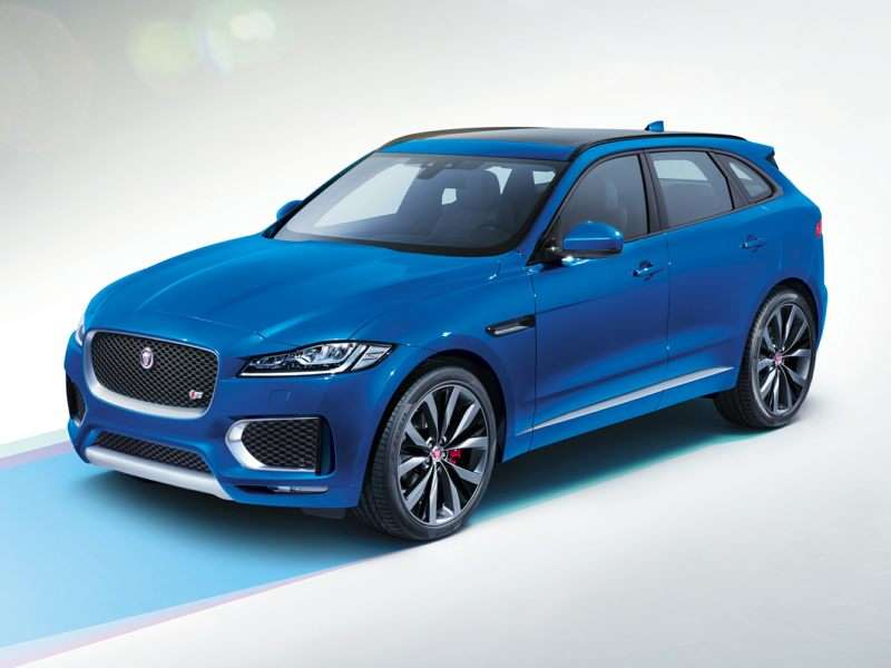 Research the 2017 Jaguar F-PACE