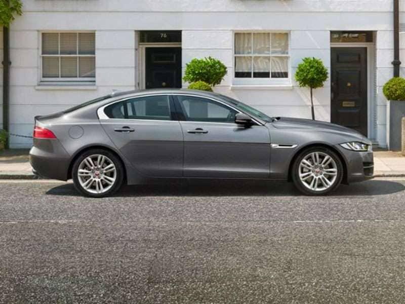 Research the 2017 Jaguar XE