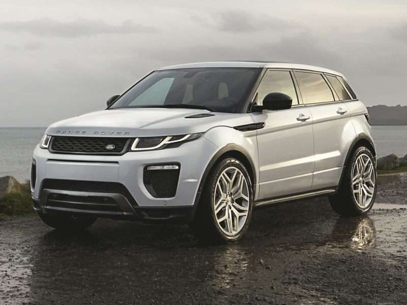 Research the 2017 Land Rover Range Rover Evoque