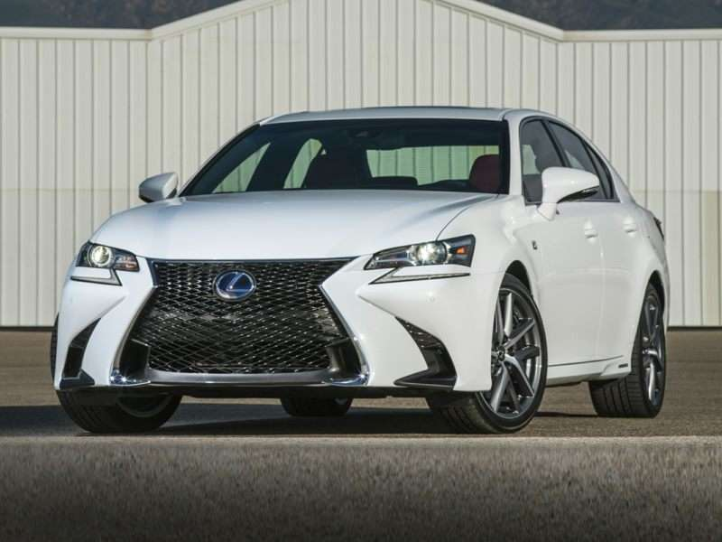 Research the 2017 Lexus GS 450h