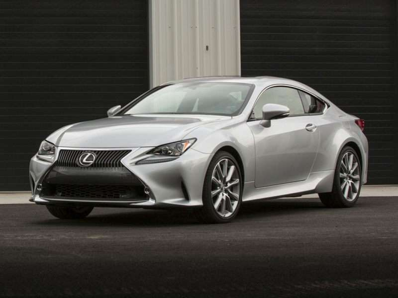 Research the 2017 Lexus RC 350