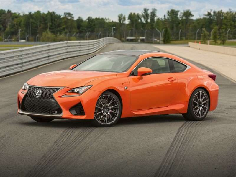 Research the 2017 Lexus RC F