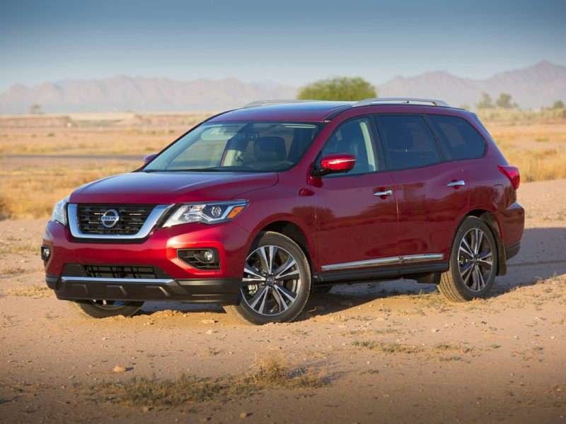 Research the 2017 Nissan Pathfinder