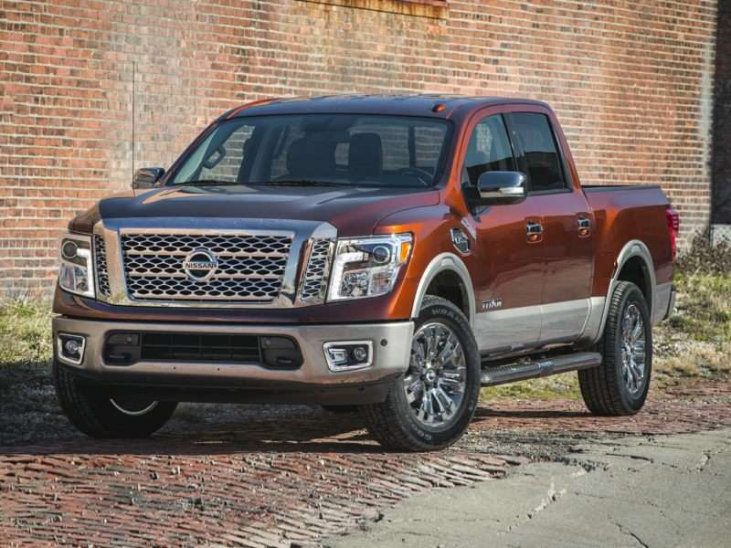 Research the 2017 Nissan Titan