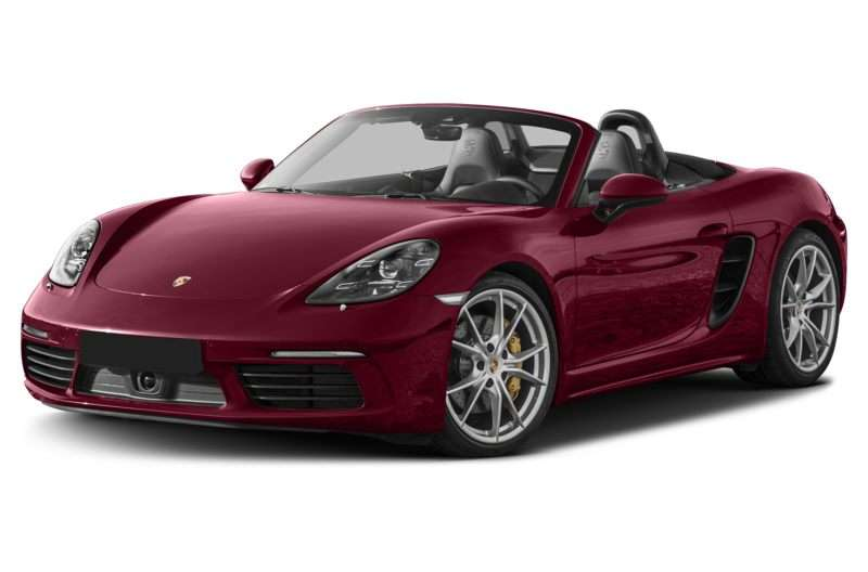 Research the 2017 Porsche 718 Boxster