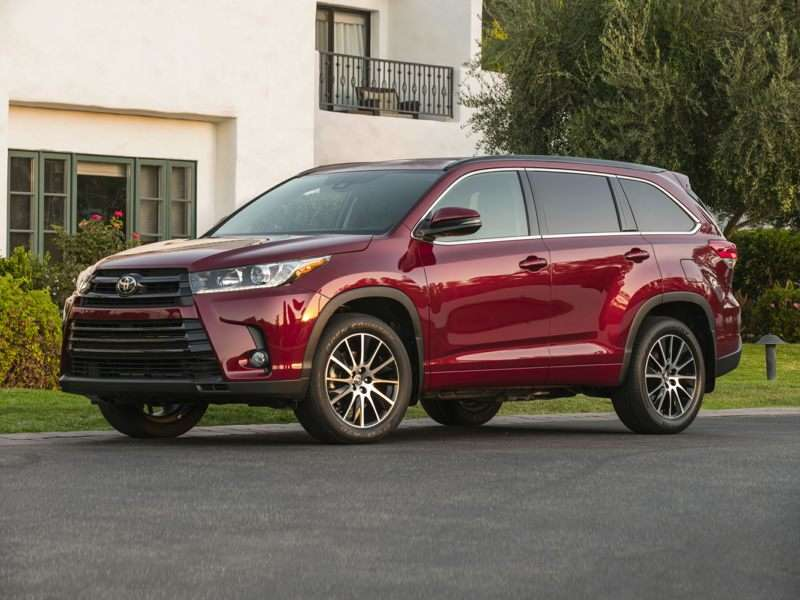 Research the 2017 Toyota Highlander
