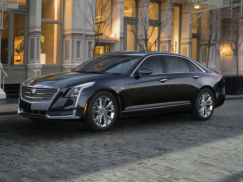 Research the 2018 Cadillac CT6