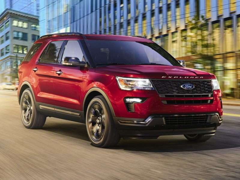 Research the 2018 Ford Explorer