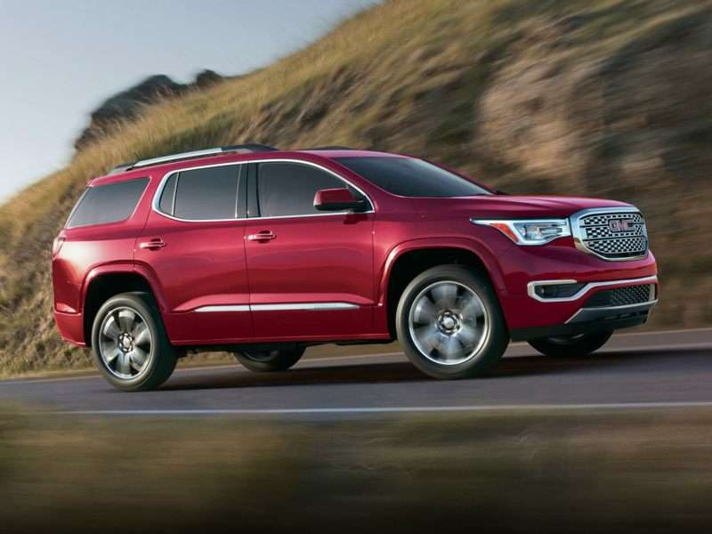 Research the 2018 GMC Acadia