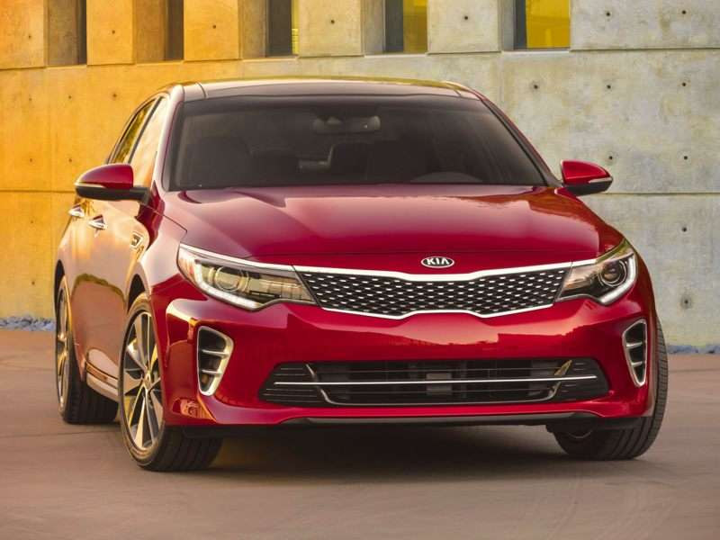 Research the 2018 Kia Optima