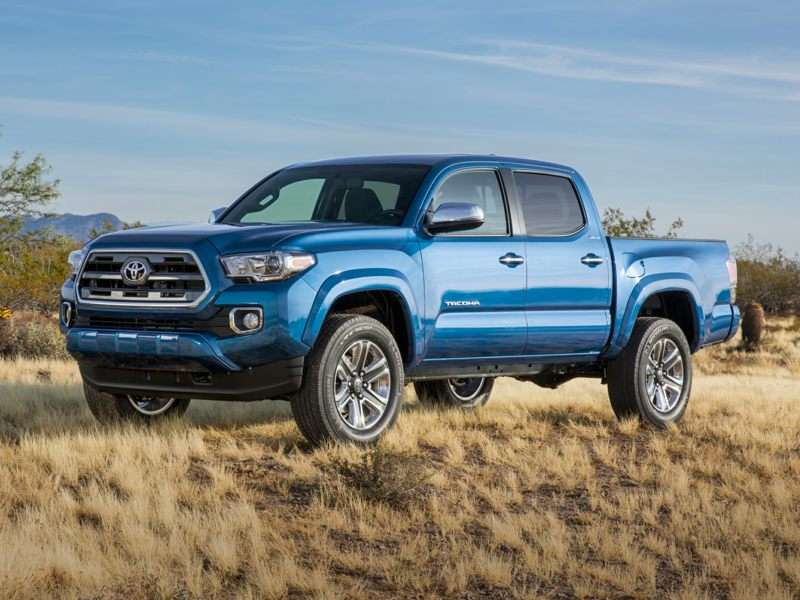 Research the 2018 Toyota Tacoma