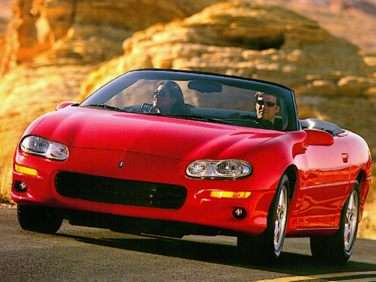 1999 Chevrolet Camaro Base Convertible