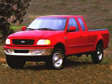 1999 Ford F-150 Work Series 4x2 Super Cab Styleside Long Box
