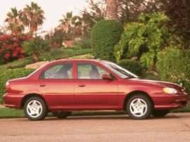 1999 Kia Sephia Base 4dr Sedan