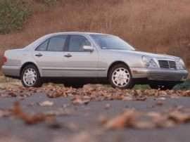 1999 Mercedes-Benz E-Class Base E300 Diesel 4dr Sedan