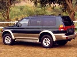 1999 Mitsubishi Montero Sport ES 4dr 4x2